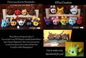 my Mimiplushies Mascots