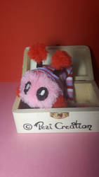 Mimiplushie Tiny pink by PeziCreation