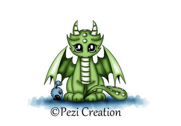 cute Dragon with Mimi