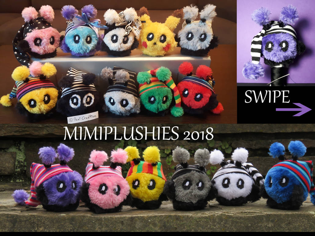 Mimiplushies 2017 Teil1 by PeziCreation