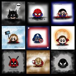 cute Marvel Charakters