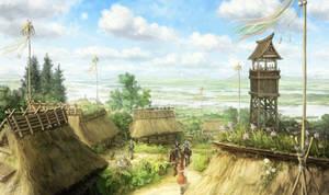 Village of plentiful water