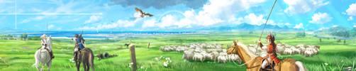 The four seasons by makkou4