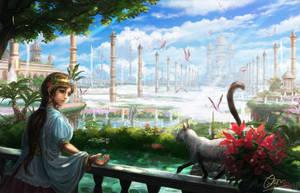 Hanging Garden by makkou4