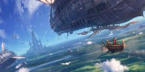 Wind fleet by makkou4