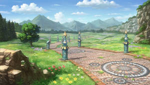 Granadia Saga background3-1 by makkou4