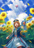 <b>From The Earth That The Sun Bloomed.</b><br><i>makkou4</i>