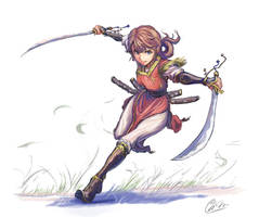 Two-sword style