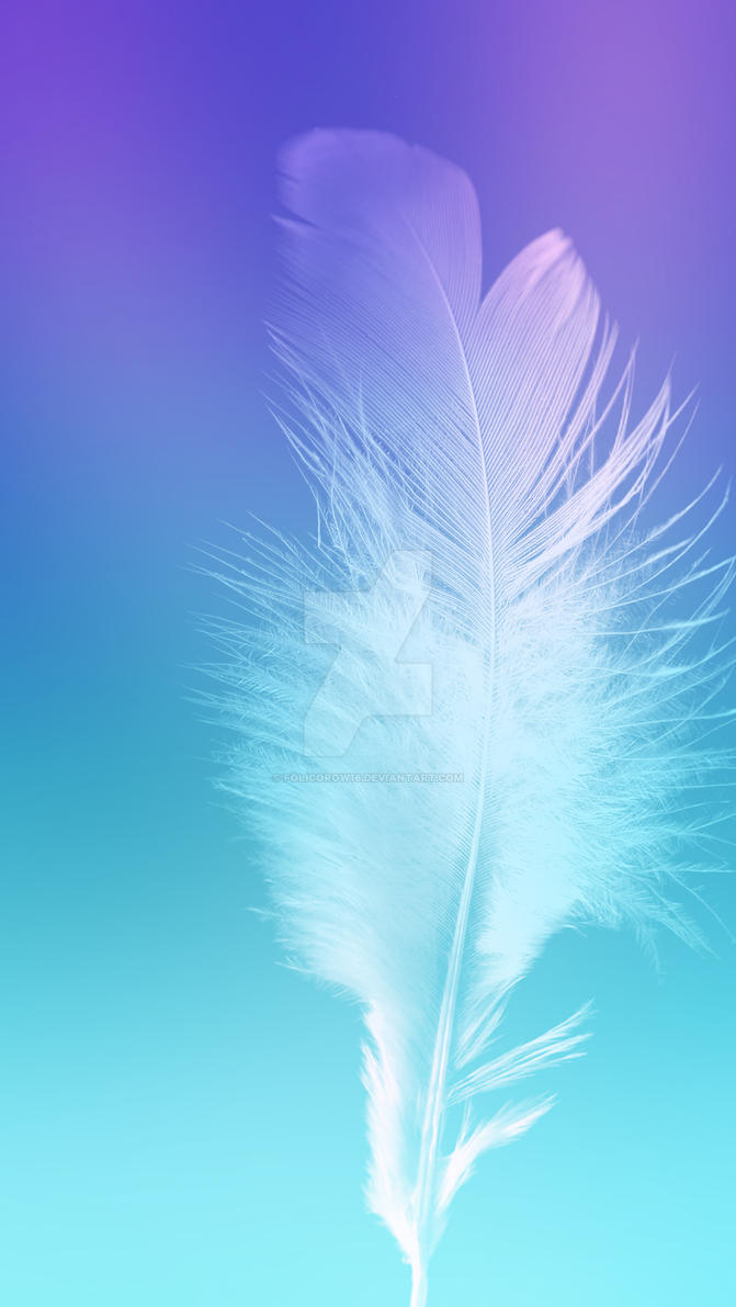 Feather Wallpapers Galaxy by Folicorow16