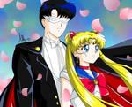 sailor moon e tuxedomask