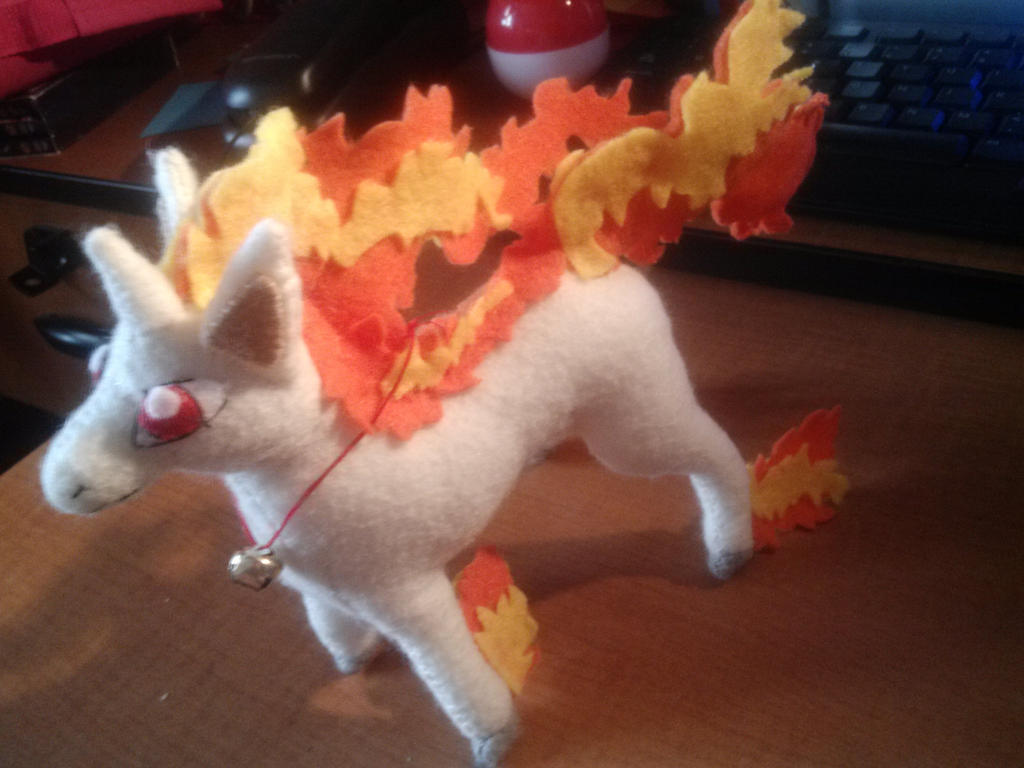 Rapidash Plush by Vulpes-Canis