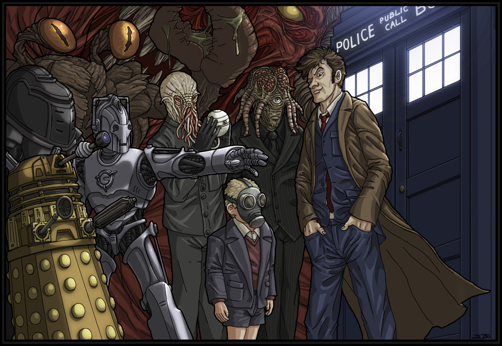 Doctor Who by slightlytwisted