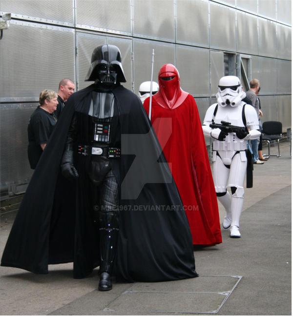 Darth Vader by MrE1967