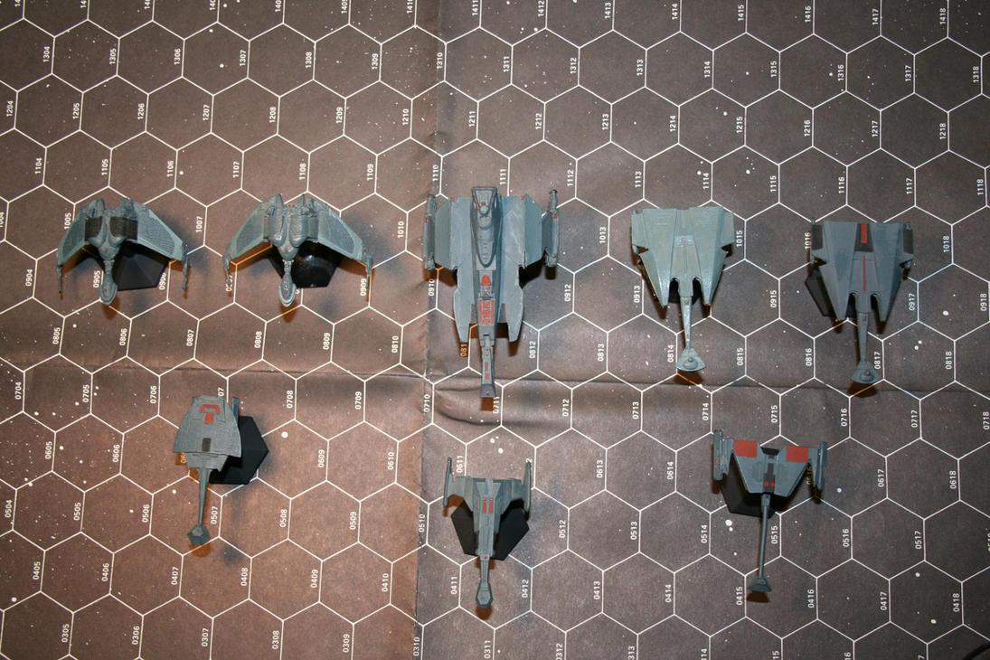 Klingon Miniatures by MrE1967