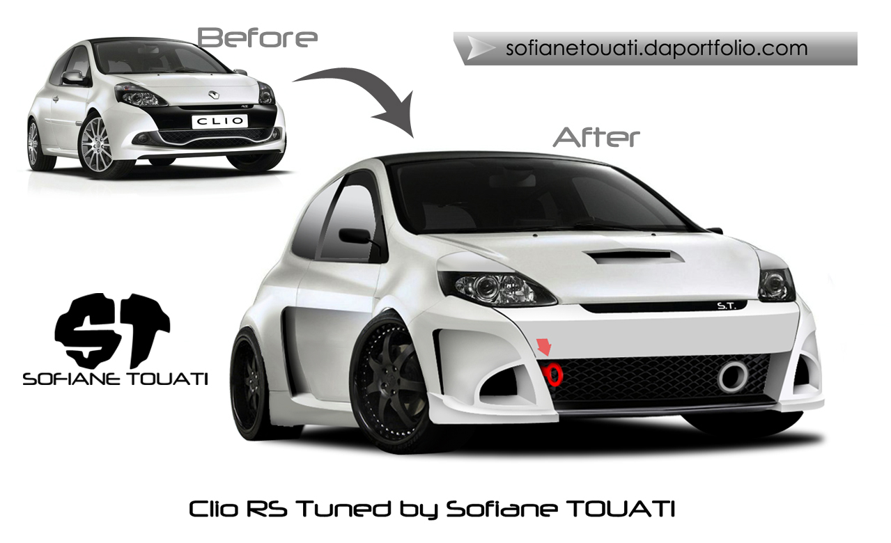 renault clio rs by sofianetouati on deviantart. Black Bedroom Furniture Sets. Home Design Ideas