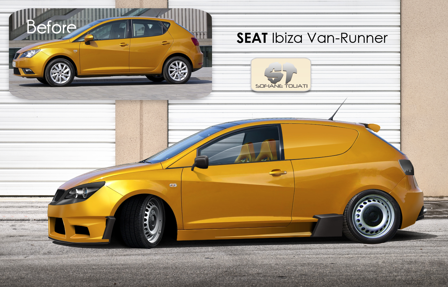 seat ibiza van runner virtual tuning by sofianetouati on. Black Bedroom Furniture Sets. Home Design Ideas