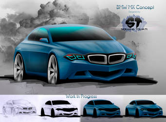 BMW MX Concept by SofianeTOUATI