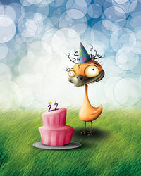 B-day card by sea-weed