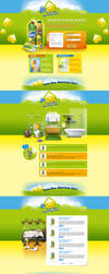 Cif and Domestos promo web site by sea-weed