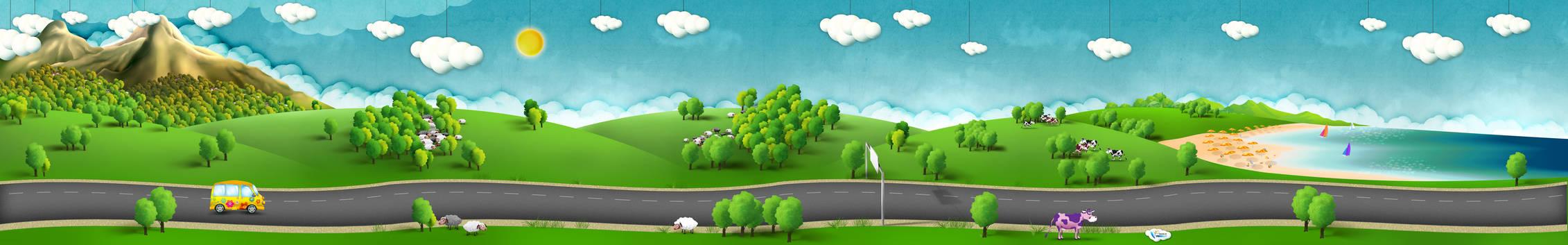 Travelling services web design