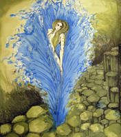 Aequoreus-daughter of the sea by sea-weed