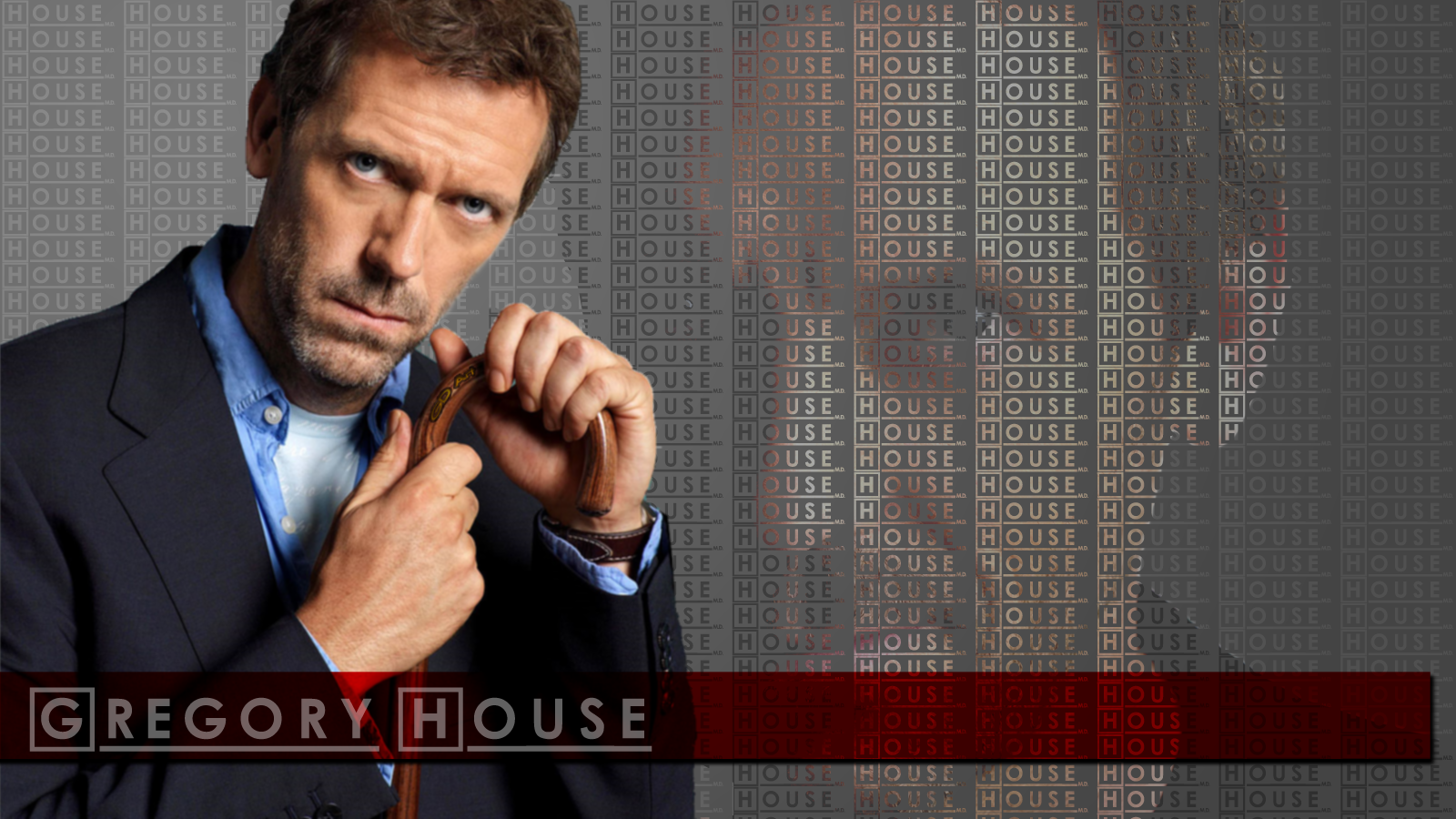 Dr Gregory House Wallpaper by gondragon13 on deviantART