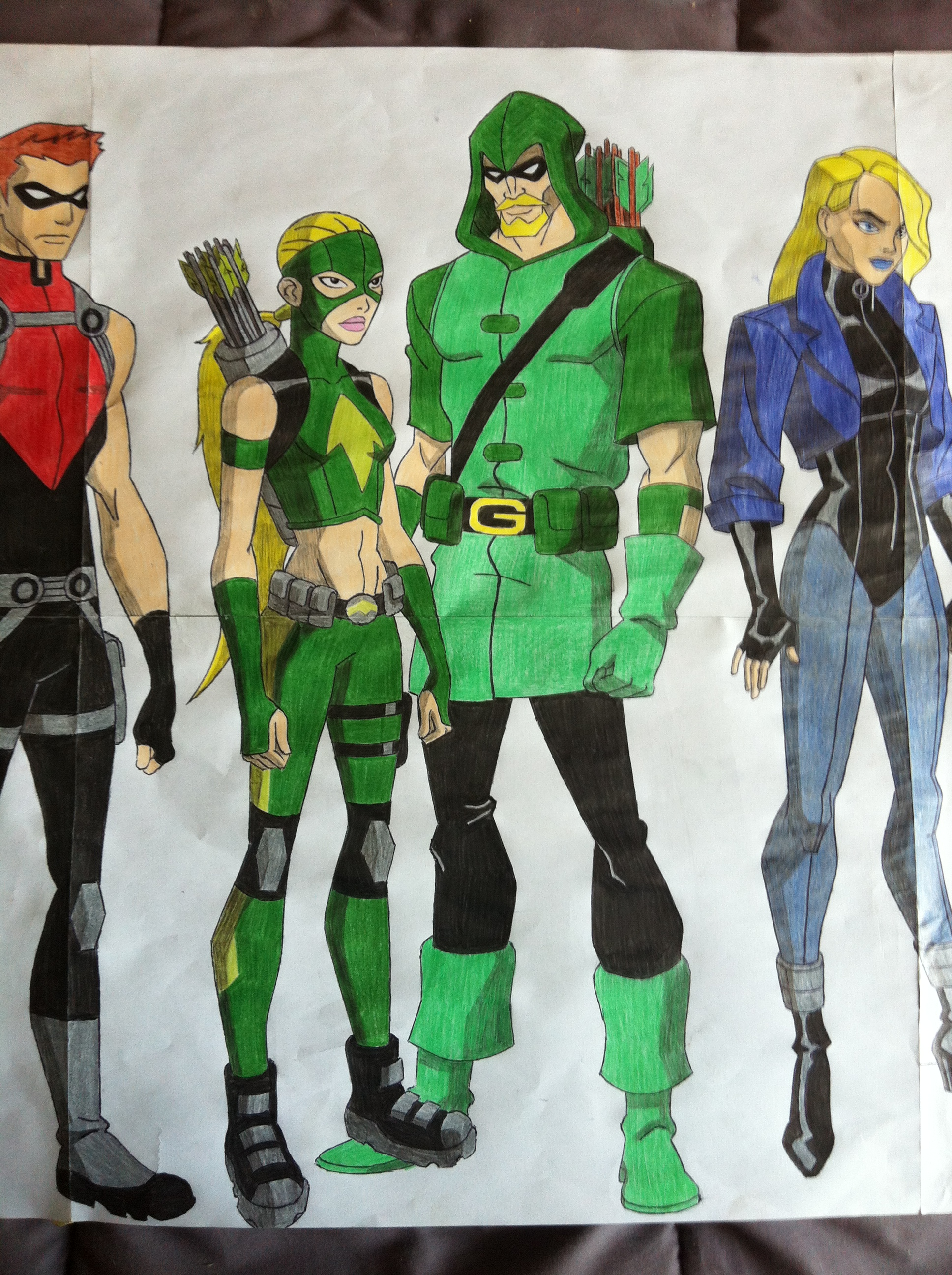 Young Justice 3 by golhom on DeviantArt