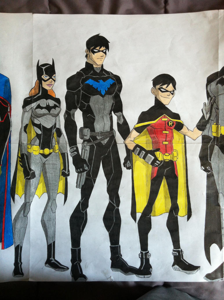 Young Justice Fan Art Young Justice 7 by gol...