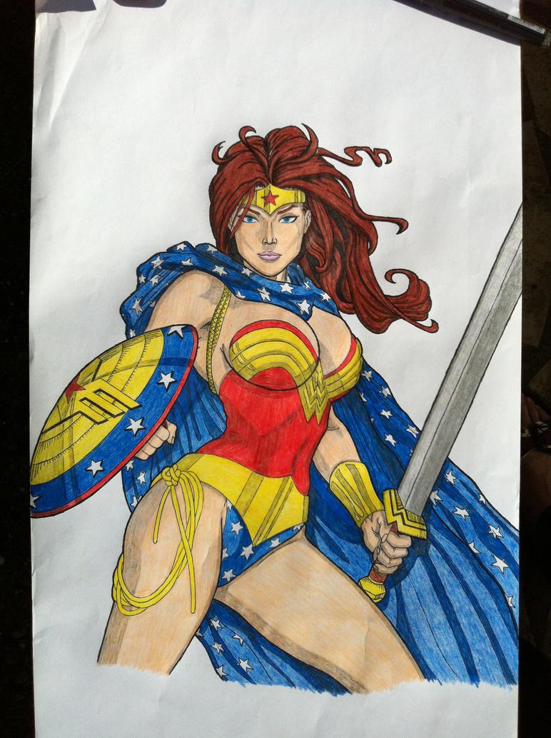 Wonder Woman by golhom