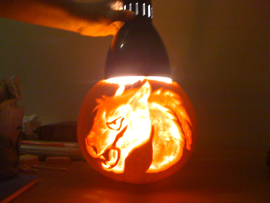 Pumpkin Carving entry by sparkpaw