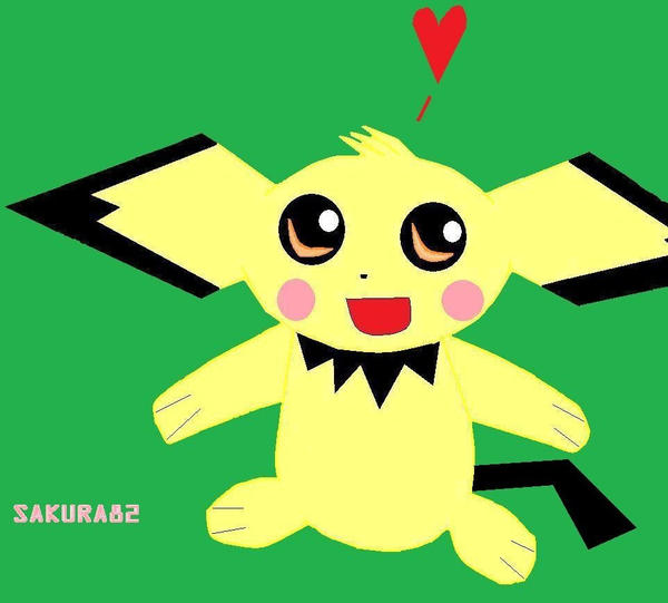 pichu loves you by Sakura82