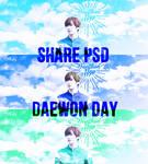 [SHARE PSD] DaeWon Day - 0317