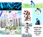 [SHARE PSD] Happy 3rd Anniversary with JJCC