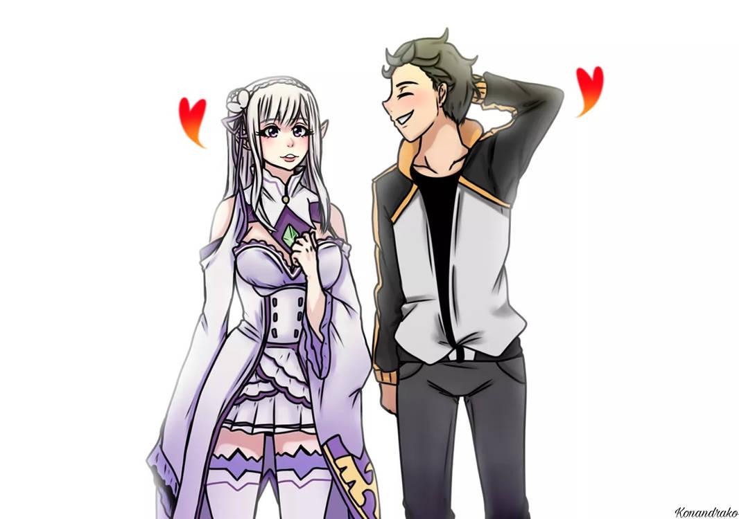 Subaru and Emilia