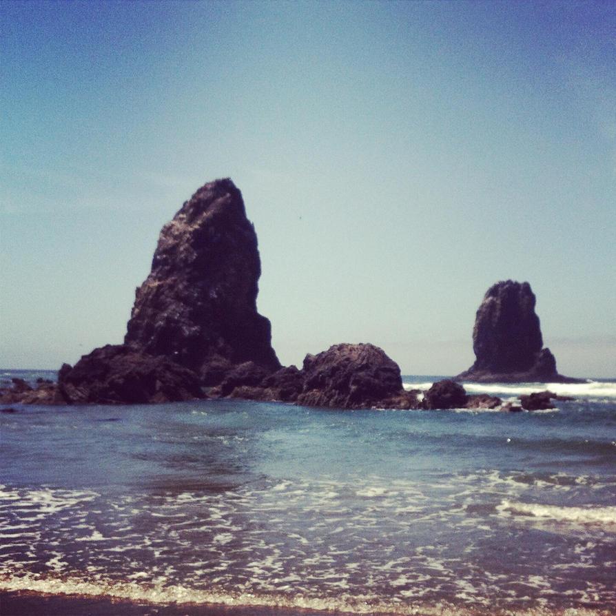 Oregon Coast by 4CatsinaBoat