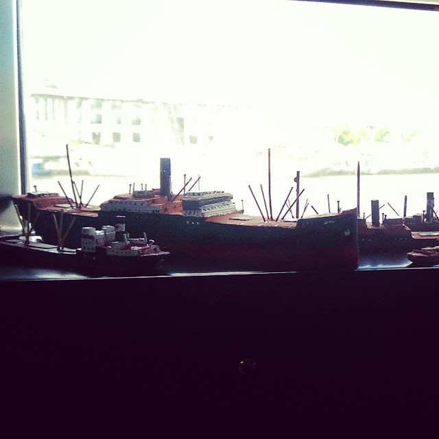 little boats on a little harbour. by Autumn-thefox