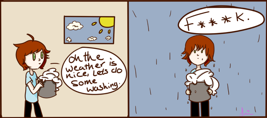 About the weather. by Autumn-thefox
