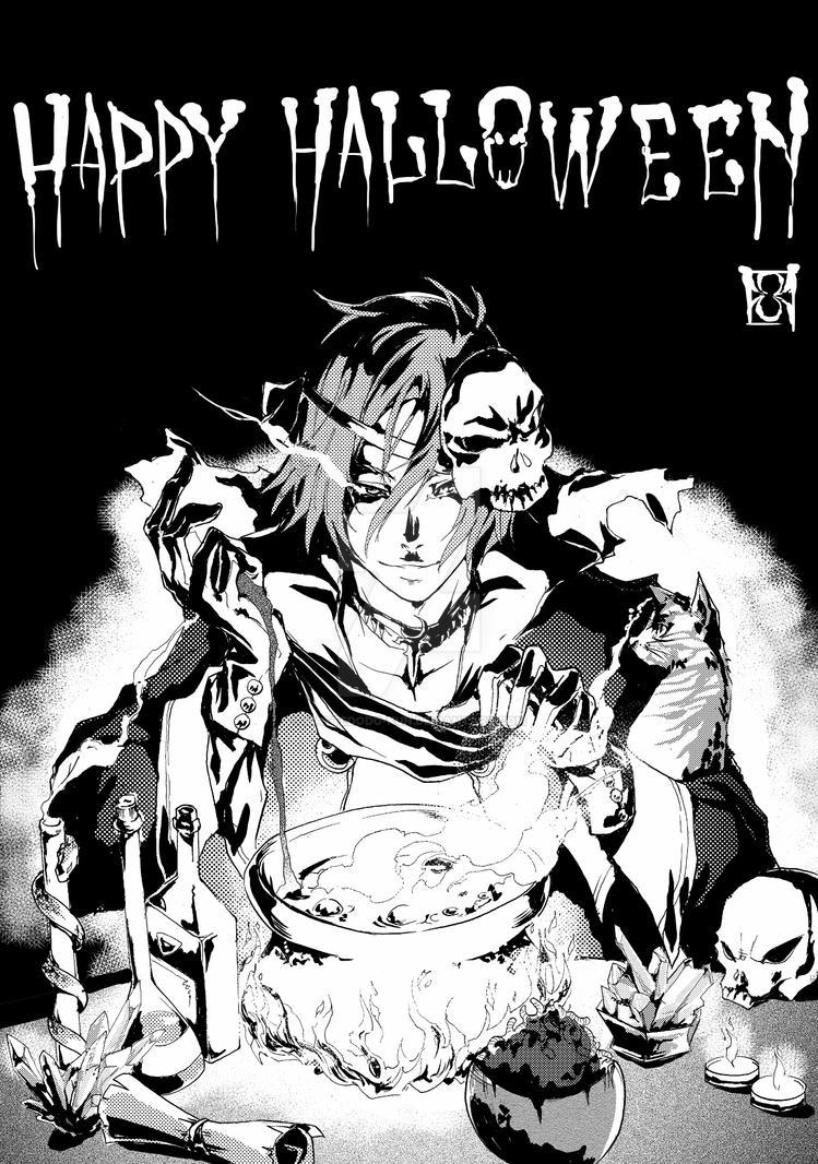 Gloomy Halloween by mattedodo-kun