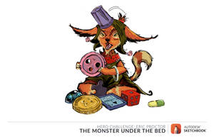 Xiu - The Monster under the bed by CamAnhhng