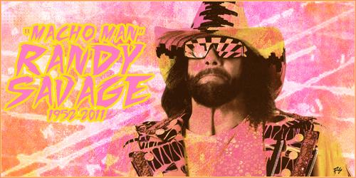 Macho Man Randy Savage By LucasEatWorld
