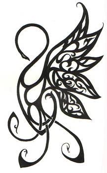 Swan Tattoo