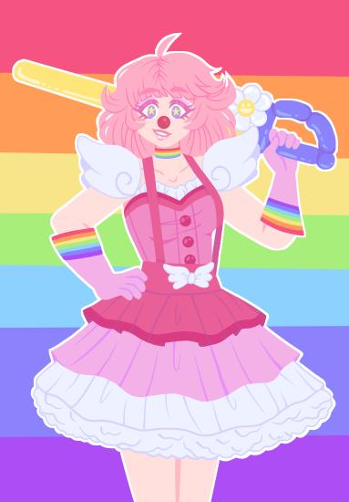 Clown Lesbian 58