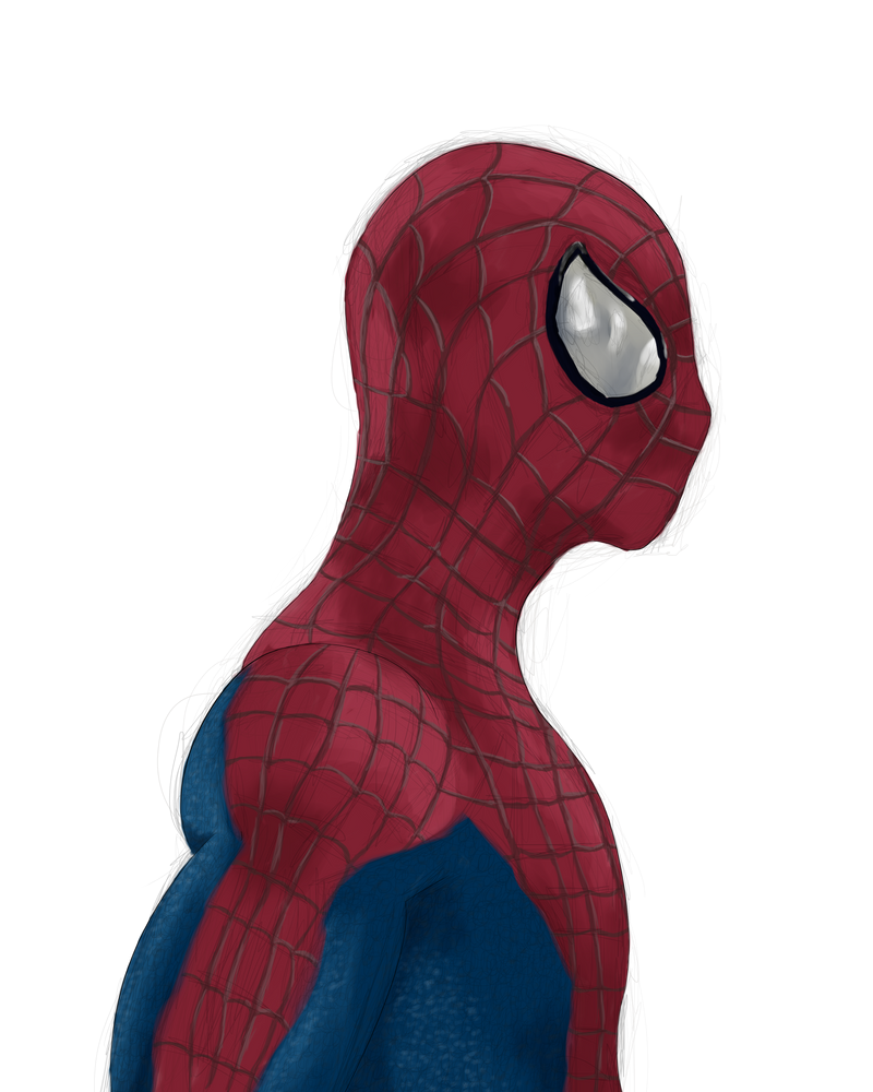 Spiderman by AngelInTheHeart