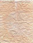 Old wrinkled paper texture