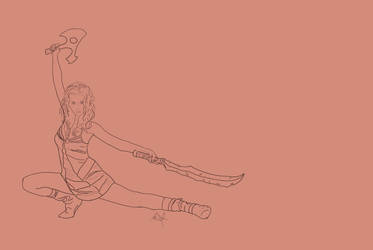 River Tam Poster - Lineart by SubSuid