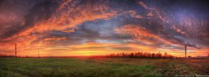 Painting the Best Art Sunrise by rekokros