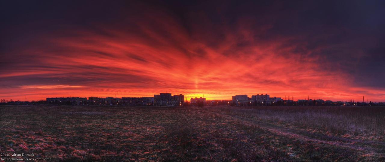 One Red Sunrise please by rekokros