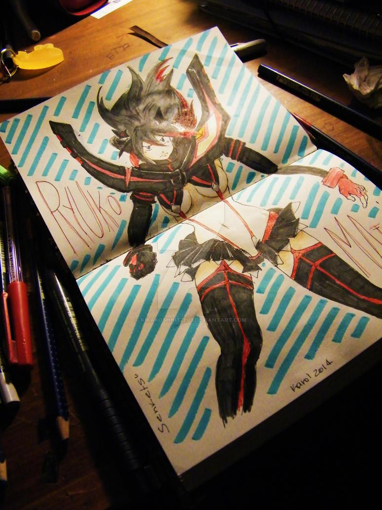Ryuko Matoi by KiKaKoShnitzel3