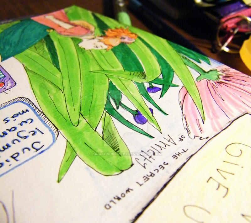 The Secret World of Arrietty by KiKaKoShnitzel3