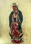 The our lady of Guadalupe